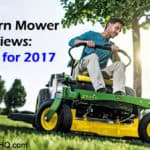Zero Turn Mower Reviews: TOP 10 for 2017