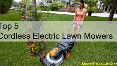 Cordless Electric Lawn Mowers Review