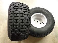 riding lawn mower tire size