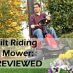 Troy Bilt Riding Lawn Mower: TOP 5 REVIEWED