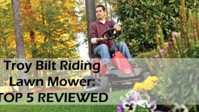 troy bilt riding lawn mower reviews